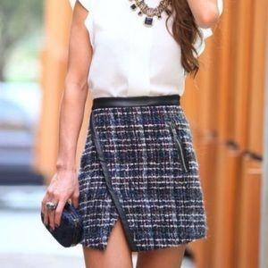 Zara tweed miniskirt